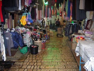 שוק הסוחרים בעיר העתיקה. תהליך השימור נותן פירות (צילום: דני ארמה)