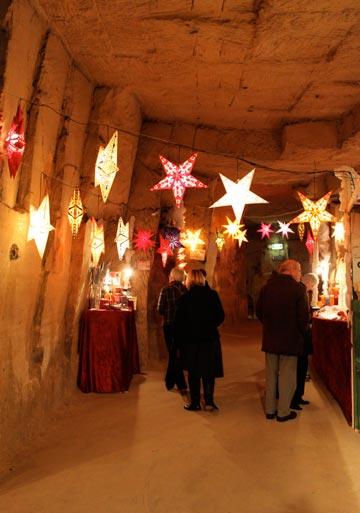 לסנטה קלאוס יש פה חדר. המערה ההולנדית (צילום: chris friese, cc)