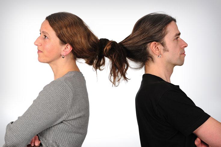 מתגרשים ונשארים בקשר מעולה ובריא (צילום: shutterstock)