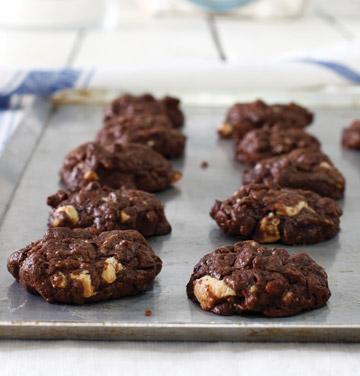עוגיות שוקולד-צ'יפס מושחתות (צילום: אפיק גבאי)