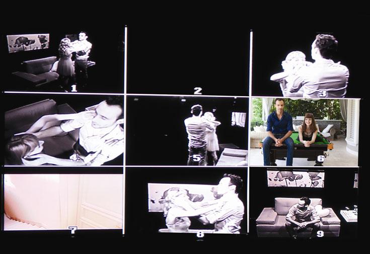 מזל שהמצלמות לא מזהות חום גוף. לורי וברובינסקי (צילום: דנה קרן)