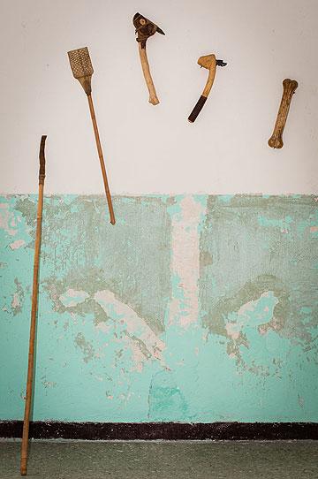 כלי הציד בעיצובו של פרנס (צילום: chelin miller)