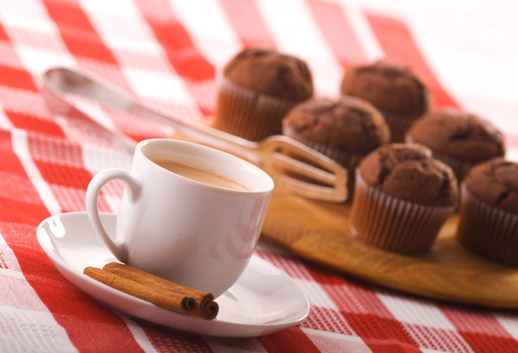קפה במאפה (צילום: thinkstock)