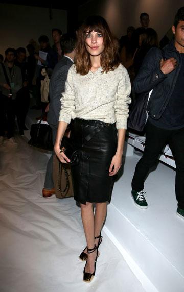 צ'אנג מגיעה לתצוגת אופנה בלונדון (צילום: gettyimages)