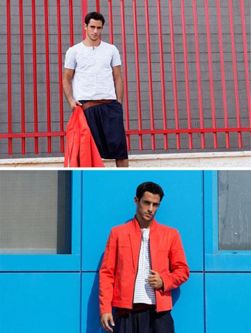 חצאית לגברים של יעל ברמן בשנקר (צילום: מעיין גוטמן ל The Practice)