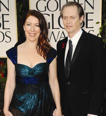 עם אשתו האמנית ג'ו אנדרס (צילום: gettyimages)