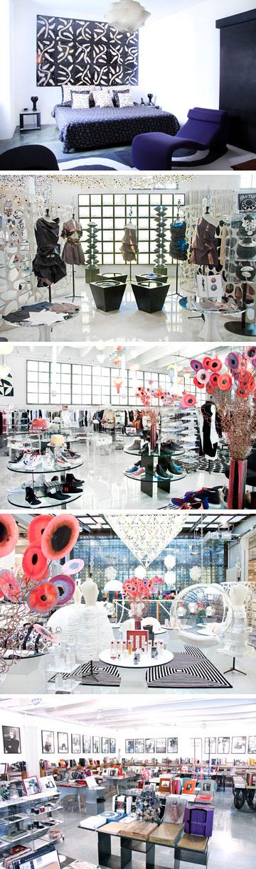 קורסו קומו 10. בוטיק אופנה, גלריה משפיעה, מסעדה ובית קפה, חנות ספרים משובחת ומלון בוטיק בן שלושה חדרים בלבד (באדיבות corsocomo10)