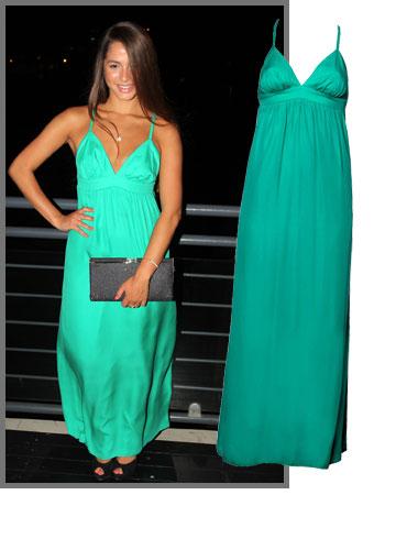 ליאור שוחט סובבה ראשים בשמלת מקסי של אליס אנד טריקסי מבוטיק In Style (מחיר: 2,190 שקל)