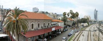 מכאן היא יצאה פעם: תחנת חיפה (צילום: רות ליברטי שלו )