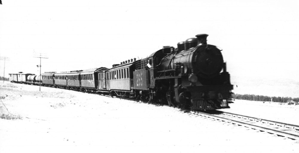 רבותי, ההיסטוריה חוזרת: רכבת העמק עשתה את הדרך לעמק בית שאן, ומשם לכנרת ולסוריה. עכשיו מחדשים אותה, במסלול שיגיע בינתיים לבית שאן (באדיבות מוזיאון הרכבת, רכבת ישראל)