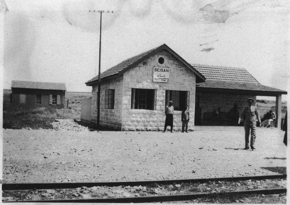 התחנה ההיסטורית בבית שאן. התחנות הישנות לא ישומרו כדי לפעול מחדש בייעודן ההיסטורי. פעילי השימור נאבקים על שימורן כדי שלא יידרסו תחת גלגלי הרכבת החדשה (באדיבות מוזיאון הרכבת, רכבת ישראל)