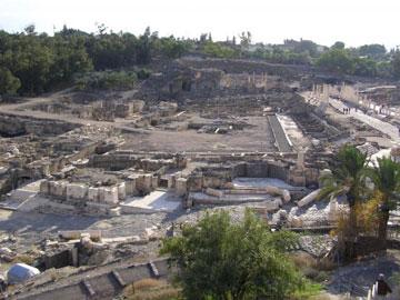 ליד התחנה הסופית: עתיקות בית שאן (צילום: Pikiwikisrael , cc)