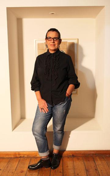 סיביל גולדפיינר. ''מותג אופנה לא יכול להיות דמוקרטי, כי זה עסק'' (צילום: עמי סיאנו)