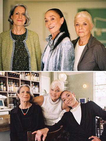 נשים מבוגרות בקטלוג ''להיות בת'' של קום איל פו, 2005 (באדיבות קום איל פו)