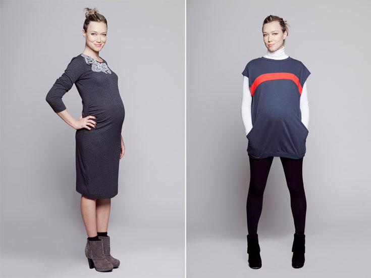 בגדי ההיריון של Imanimo. ''מעניין אותנו לתת את הזווית האופנתית בלבד'' (צילום: אסף עיני)