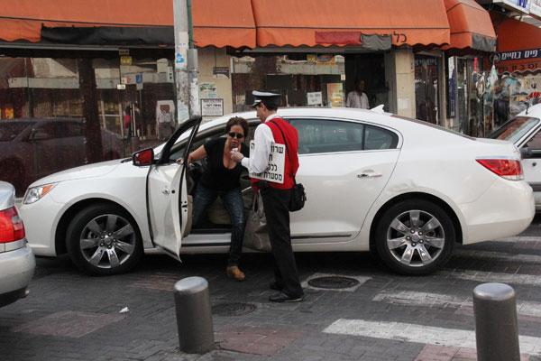 צנעני וידיד, שכונת התקווה (צילום: ניר פקין)