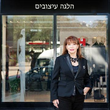 הלגה גוטסדינר-קוק. פתחה את הבוטיק הראשון שלה בתל אביב באמצע שנות ה-80  (צילום: ענבל מרמרי)