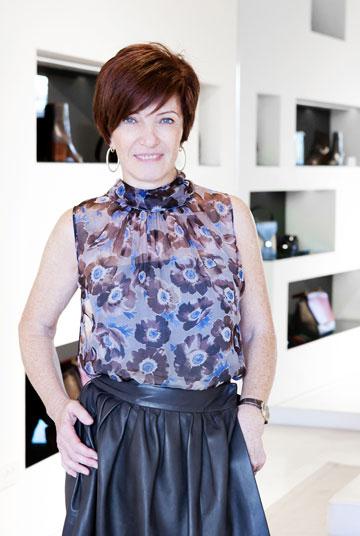 סילביה שוורצמן. ''היום הלקוחות מעדיפות לרכוש פריטים ייחודיים ולא בייסיק'' (צילום: ענבל מרמרי)