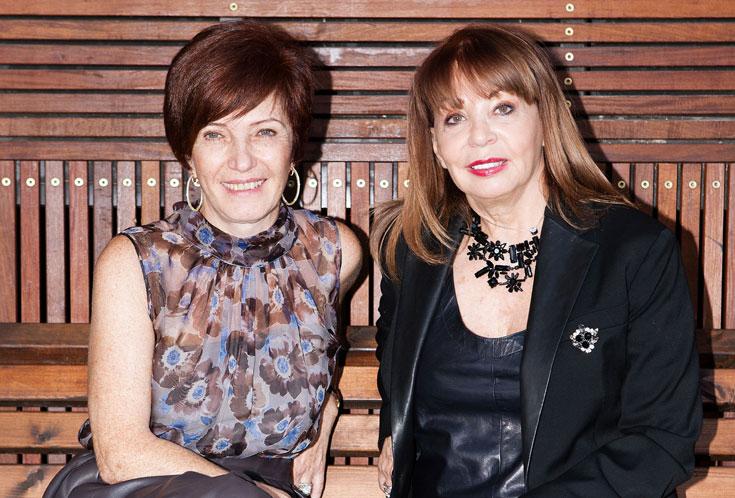 מימין: הלגה הלגה גוטסדינר-קוק וסילביה שוורצמן. ''דווקא לקוחות שבאות עם הטרנינג מהמכון ונראות כמו כלום - הן הלקוחות הכי נחמדות, הכי טובות והכי לא פלצניות'' (צילום: ענבל מרמרי)