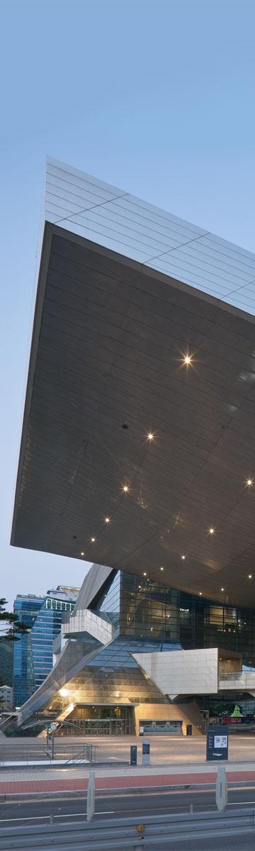 מרכז הקולנוע של בוסאן (צילום: COOP HIMMELB-L-AU)