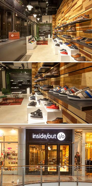 אינסייד אאוט. חנות נעליים ייעודית לגברים (צילום: שי נייבורג)