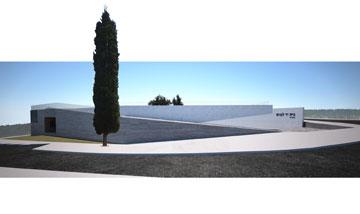 במקום השני: הצעתו של גולדמן (הדמיה: רן גולדמן, מנוף אדריכלות)