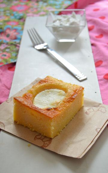 עסיסית. עוגת מאלאי (צילום: חני הראל)