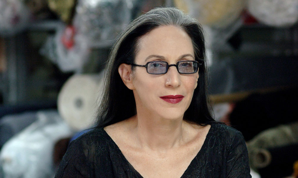 דורין פרנקפורט. ניסחה במשך 30 שנות פעילותה כתב יד אישי בולט, תוך שהיא מובילה את אופנת הנשים בישראל (צילום: דודי חסון )