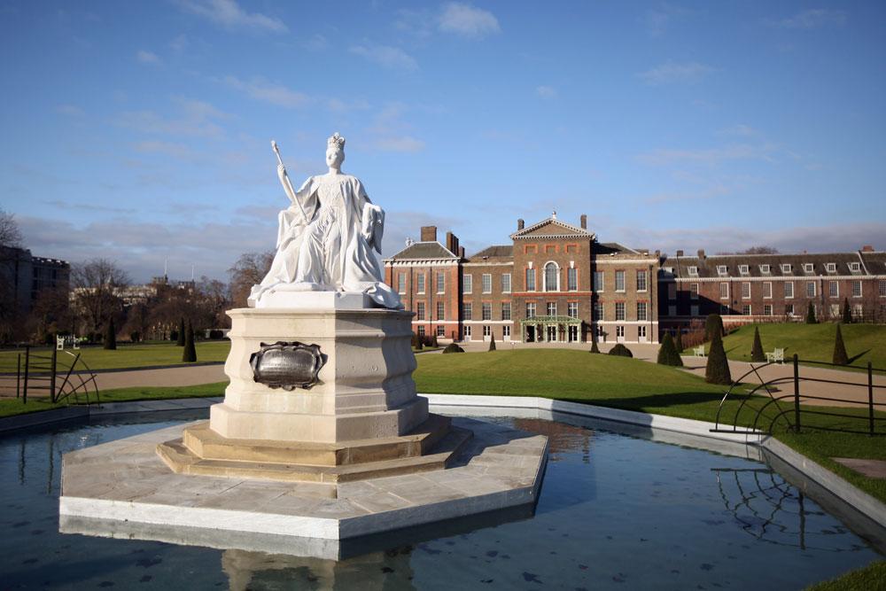 תשאלו את המשרתת של הנסיכה מרגרט. ארמון קנסינגטון, לונדון (צילום: gettyimages)