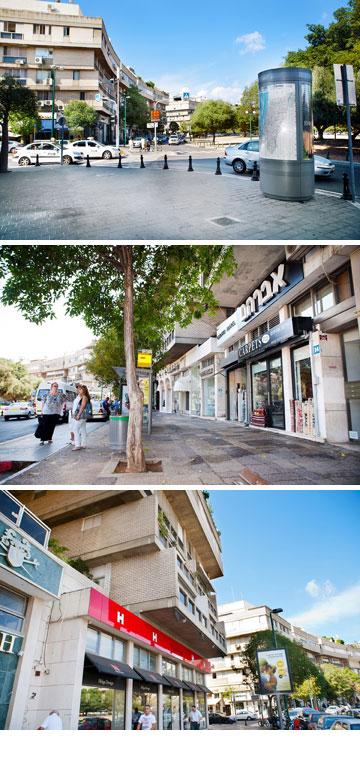 """כיכר המדינה. """"90 אחוז מהלקוחות בכיכר הן לא רוסיות"""" (צילום: ענבל מרמרי)"""