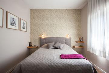 חדר השינה (צילום: טל ניסים)