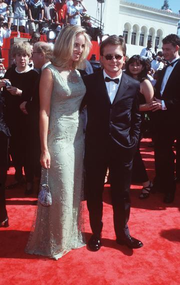 נפגשו על הסט. מייקל ג'יי פוקס וטרייסי פולאן ב-1989 (צילום: gettyimages)
