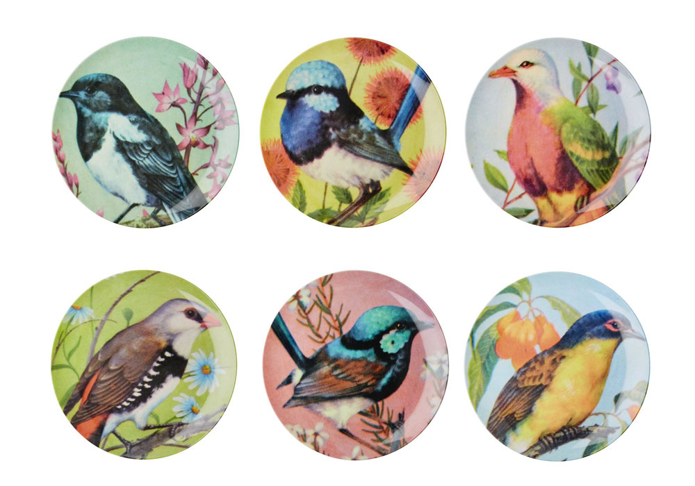 קולקציית הציפורים החדשה של ''Rice'', המותג הדני שהתפרסם במוצריו השימושיים והעליזים (צילום: RICE)