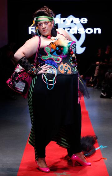 דוגמניות במידות 50 ומעלה. Pulp Fashion Week (צילום: gettyimages)