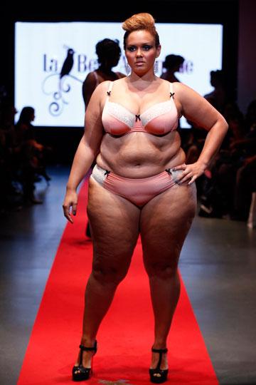 Pulp Fashion Week. מידות גדולות גם בהלבשה תחתונה (צילום: gettyimages)