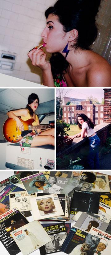 """""""איימי וויינהאוס - דיוקן משפחתי"""". תצלומים אישיים, קטעים מיומנה ופריטי אופנה מארונה של הזמרת המנוחה  (courtesy of  Jewish Museum London, Winehouse Family and Charles Moriarty)"""