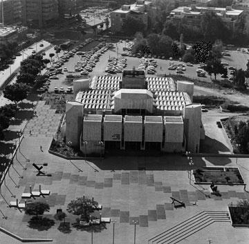 בית אריאלה. חלק ממתחם התרבות של ימינו (צילום: רן ארדה,  באדיבות אאי)