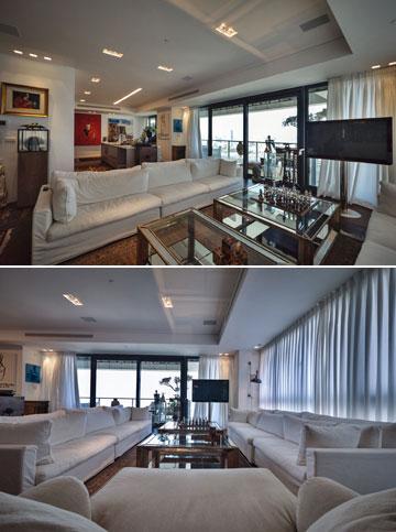 """""""את הדירה הקודמת שלי מכרתי יחד עם הרהיטים, כך שחלק מהחפצים אני סוחבת איתי במשך שנים מבתים קודמים, וחלק הם חדשים שהותאמו לדירה"""" (צילום: איתי סיקולסקי)"""