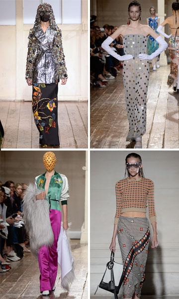תצוגות קודמות של מייזון מרטין מרג'יאלה. ההחלטה מצביעה על שינויים מרחיקי לכת בבית האופנה (צילום: gettyimages)