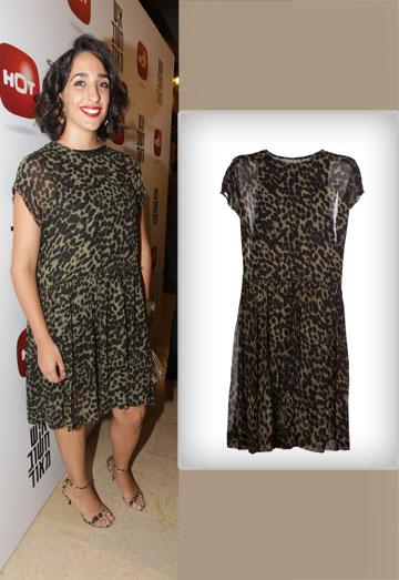 """אלמה דישי (""""איש חשוב מאוד""""), היממה אותנו בשמלה של אטואל איזבל מארה לפקטורי 54 (מחיר: 1,995 קל) (צילום: רפי דלויה, שרבן לופו)"""