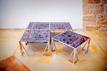 עבודה של אהוד אורן (צילום: אהוד אורן )