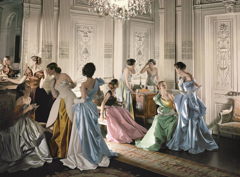 Charles James Ball Gowns, 1948 Courtesy of The Metropolitan Museum of Art, Photograph by Cecil Beaton, Beaton / Vogue / Condé Nast Archive. Copyright © Condé Nast