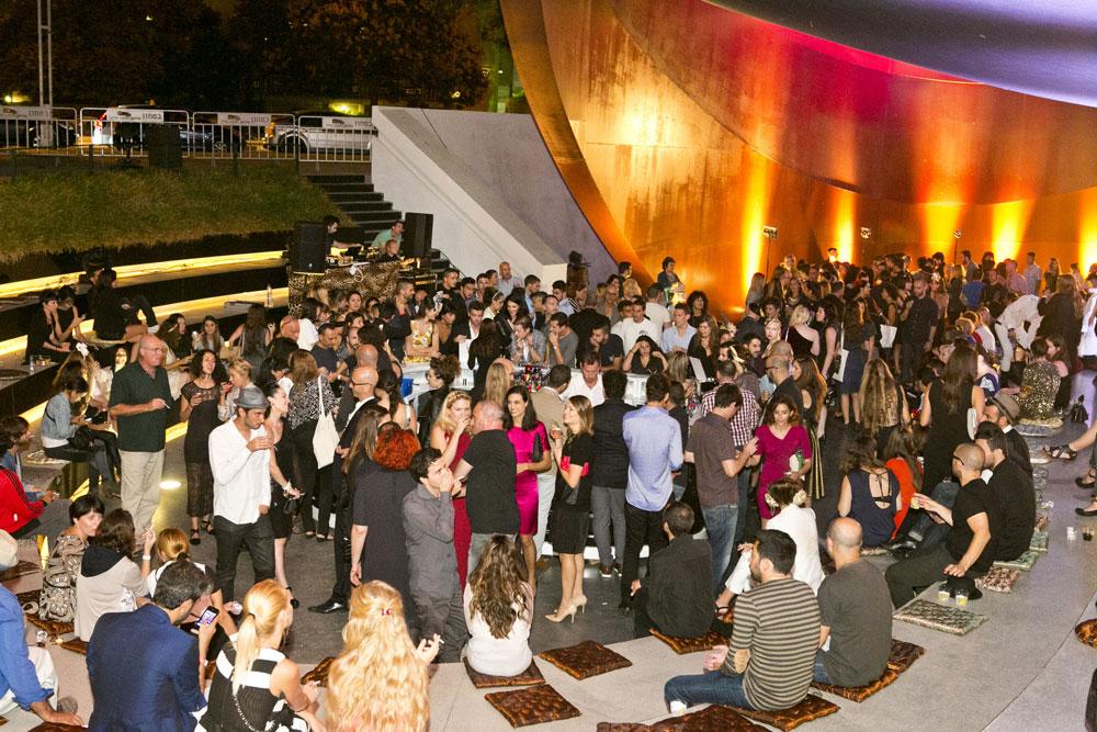 טקס פרסי האופנה שנערך בשנה שעברה. יריית הפתיחה לשבוע האופנה חולון (צילום: לם-וליץ סטודיו )