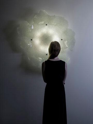 ''Moons Of Jupiter'' של אירה רוז'בסקי (צילום: יואב גורין)