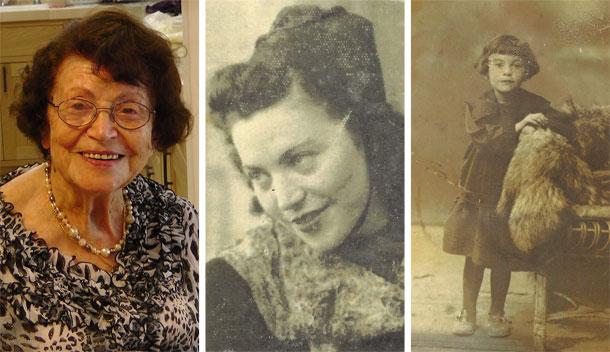 למדה לבשל בגיל 8. סבתא חנה לסטר כילדה, כאישה צעירה וכיום