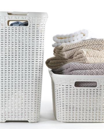 סלי הכביסה מפלסטיק דמוי ראטן היו הצלחה אדירה וסללו את הדרך (באדיבות כתר)