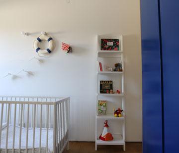 הצצה לחדר הילדים (צילום: דוד לבנטל )