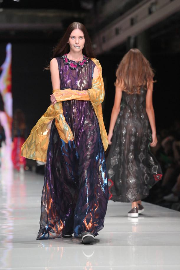 תצוגת האופנה של טובה'לה ונעמה חסין (צילום: אורית פניני)