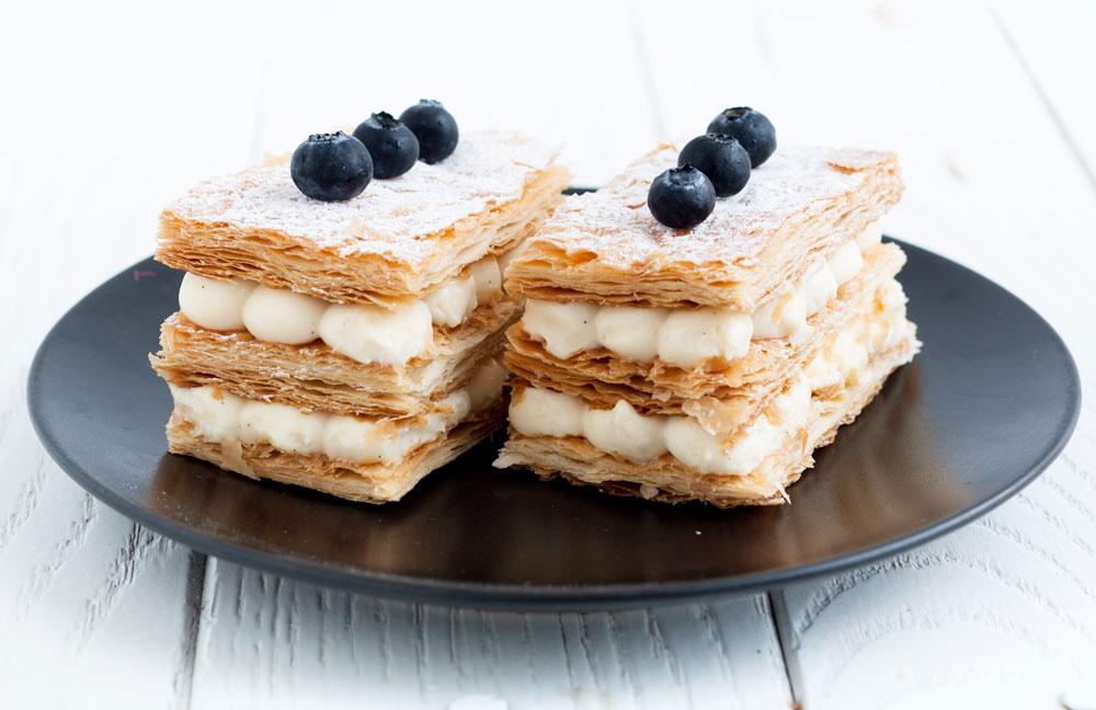 מאות שכבות דקיקות של בצק. עוגת מילפיי (צילום: אולגה טוכשר)