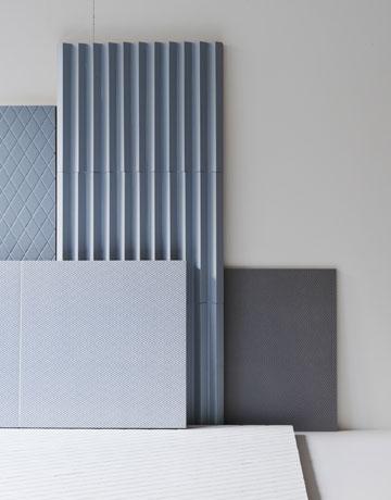 קולקציית האריחים החדשה שעיצבו ל''מוטינה'', שייצרה מצדה את צינורות הקרמיקה לתערוכה (באדיבות מודי )
